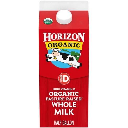 Horizon Organic Whole Milk - 0.5gal - image 1 of 4