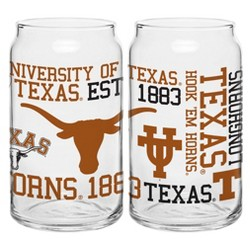 NCAA 2pk Spirit Can Glasses