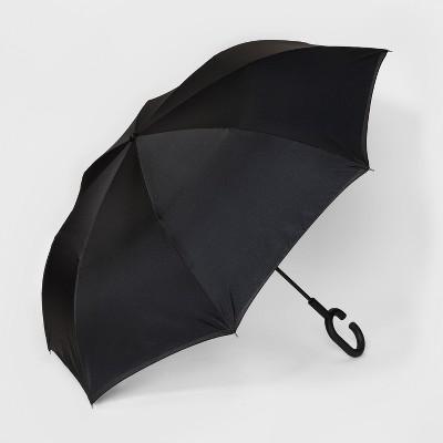 ShedRain UnbelievaBrella Reverse Stick Umbrella - Gray
