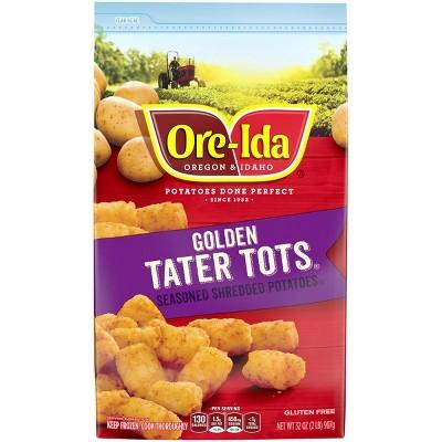 Ore-Ida Tater Tots Seasoned Frozen Shredded Potatoes - 32oz