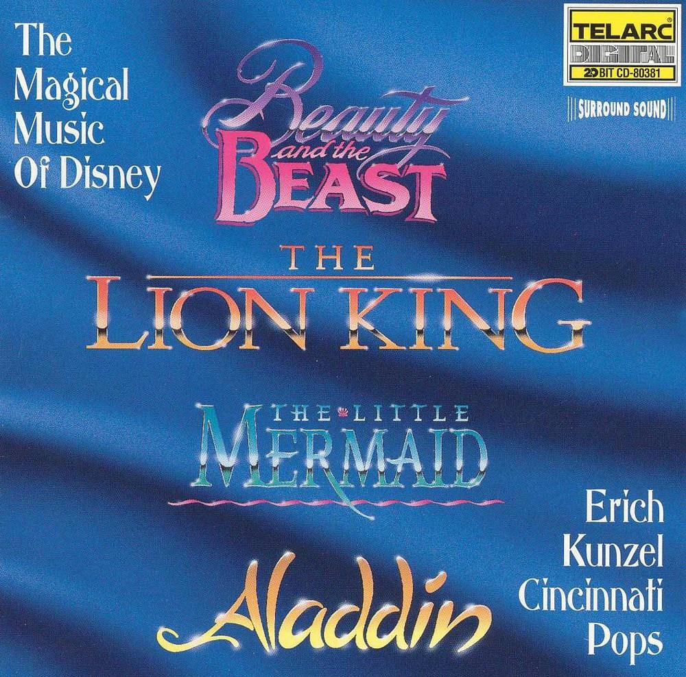 Erich kunzel - Magical music of disney (CD)