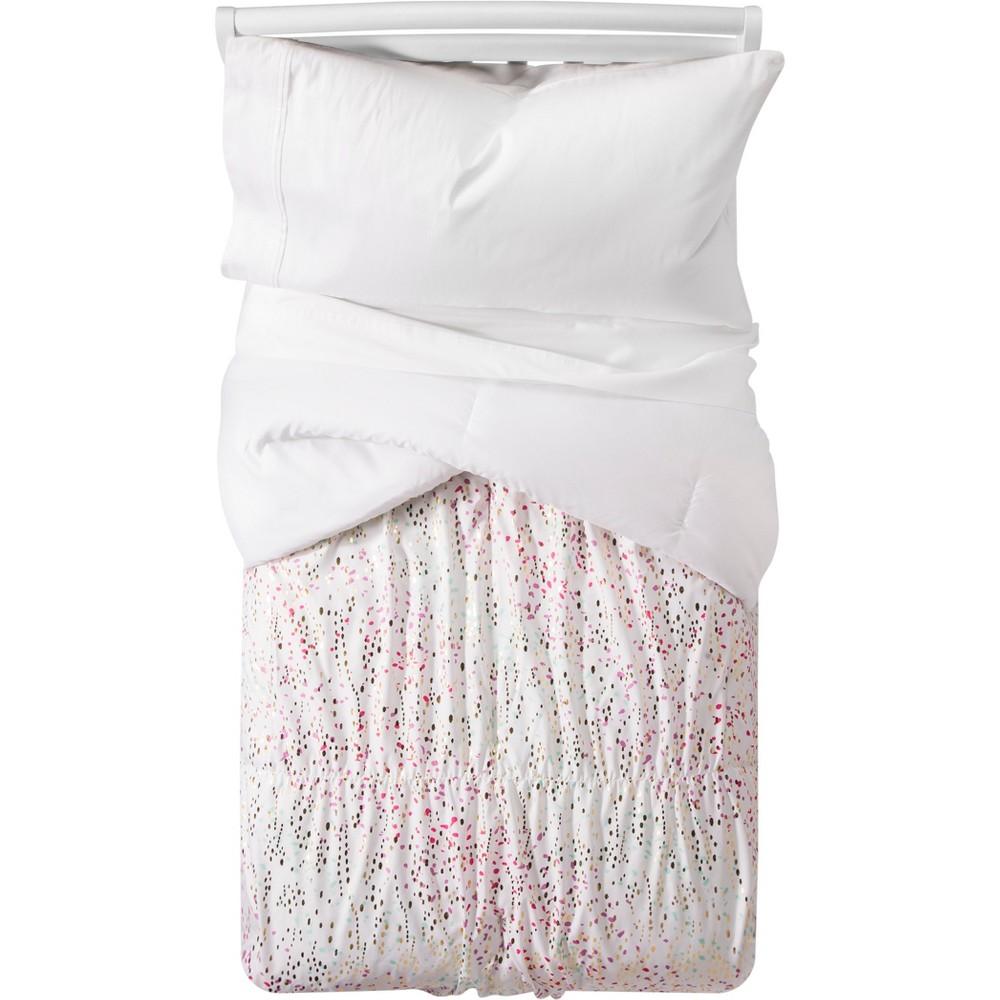 Iridescent Comforter Set (Full/Queen) - Pillowfort, White
