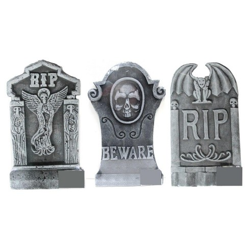 Halloween Tombstone Set of 3 - image 1 of 1