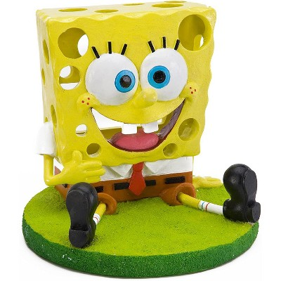 Penn-Plax 5 in. High SpongeBob Squarepants Aquarium Decor Ornament