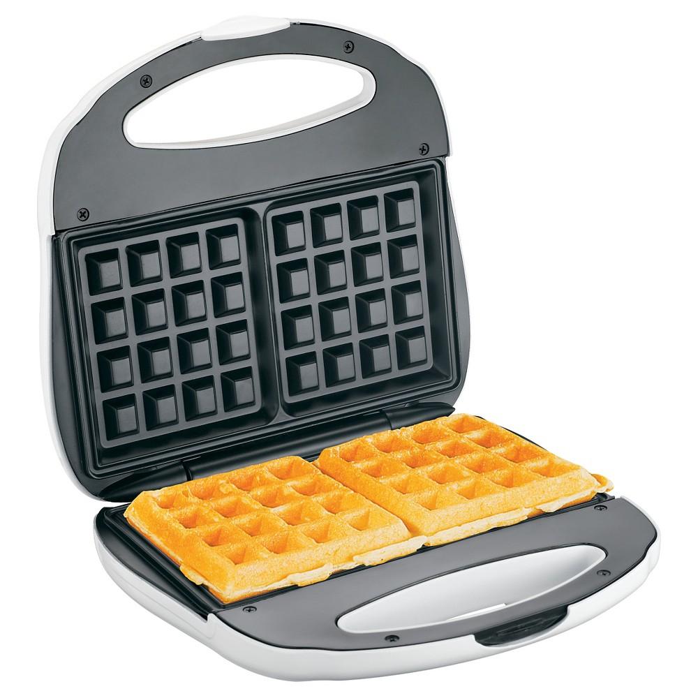 Image of Proctor Silex Belgian Waffle Baker, White
