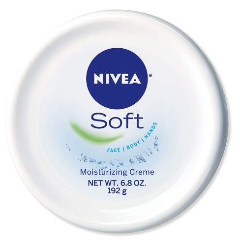 NIVEA Soft Moisturizing Crème Body, Face and Hand Cream - 6.8oz - image 1 of 4