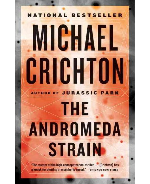 Andromeda Strain (Reprint) (Paperback) (Michael Crichton) - image 1 of 1