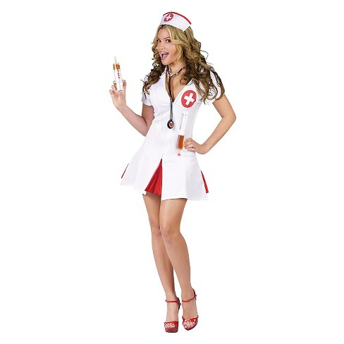 Women's Nurse Say Ahhh Costume - image 1 of 1