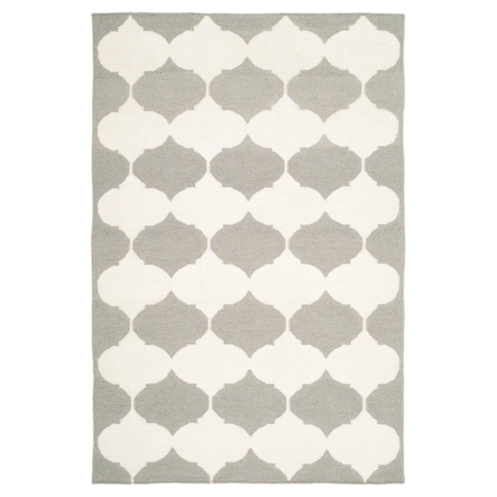 Check price Negah Dhurry Rug - Gray Ivory - (3x5) - Safavieh