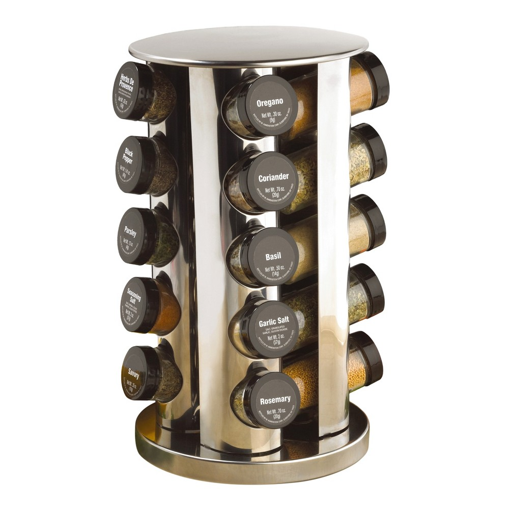 Image of Kamenstein 20-Jar Revolving Spice Rack