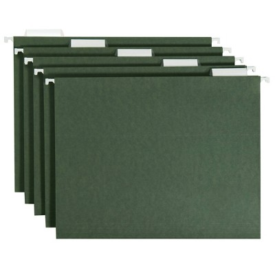 20ct Hanging File Folders Letter Size Green - up & up™