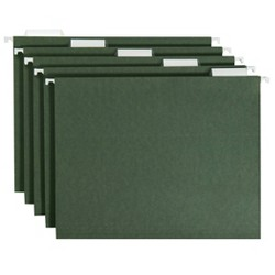 20ct Hanging File Folders Letter Size Green - Up&Up™