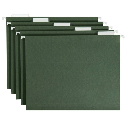 20ct Hanging File Folders Letter Size Green - Up&Up™ - image 1 of 4