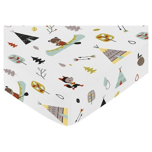 Sweet Jojo Designs Outdoor Adventure Fitted Crib Sheet - image 1 of 1