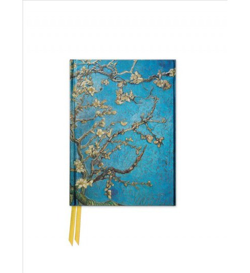 Almond Blossom by Van Gogh Foiled Pocket Journal (Hardcover) - image 1 of 1