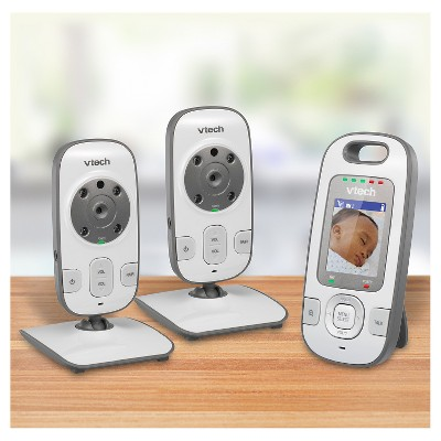 VTech® Dual Camera Video and Audio Baby Monitor with Night Vision and Talk Back Intercom - VM312-2