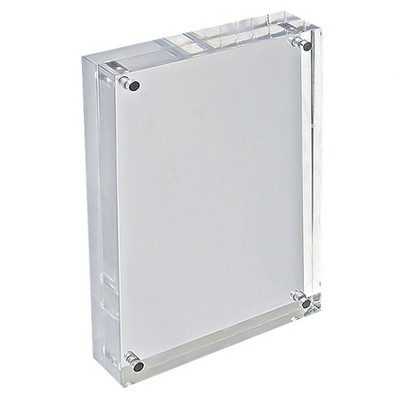 "Azar 8.5"" x 5.5"" Vertical/Horizontal Acrylic Block Frame"