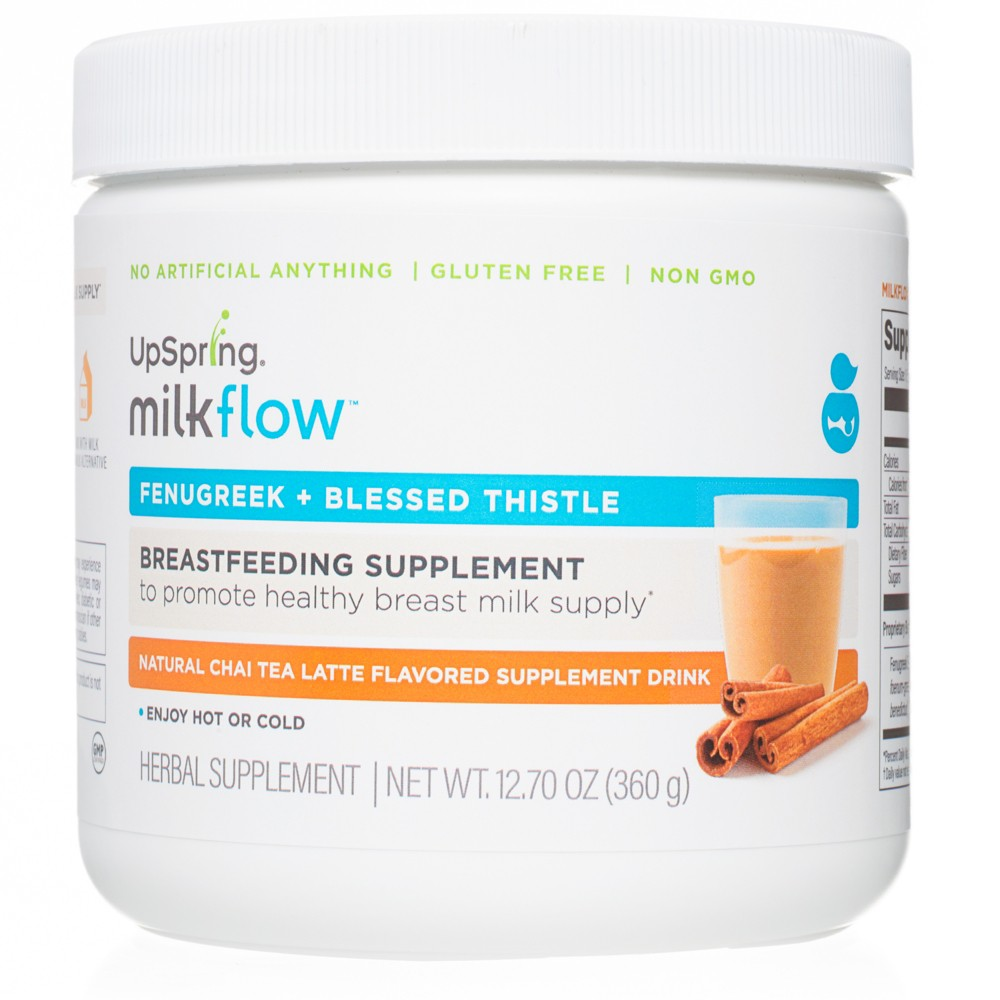 Image of Upspring Milkflow Drink Mix Canister Chai Tea (24 servings), Women's