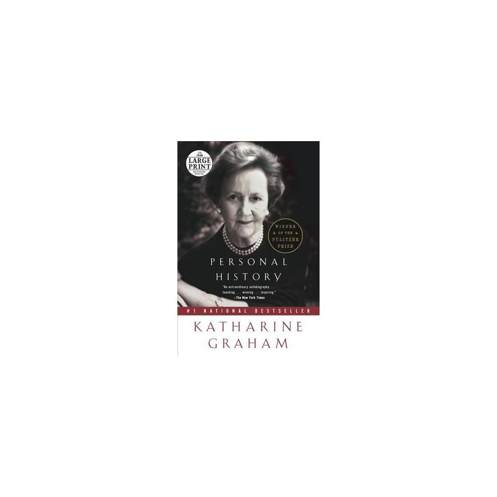 Personal History (Large Print) (Paperback) (Katharine Graham)