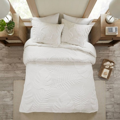 Ceiba Tufted Cotton Chenille Comforter Set - image 1 of 4