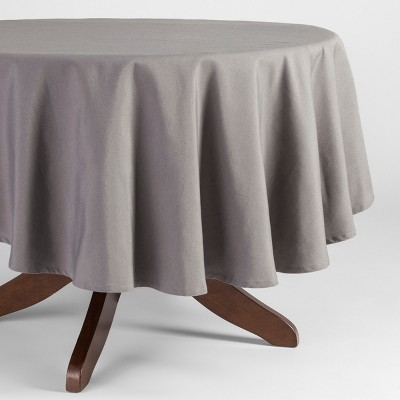 70 R Tablecloth Gray - Threshold™