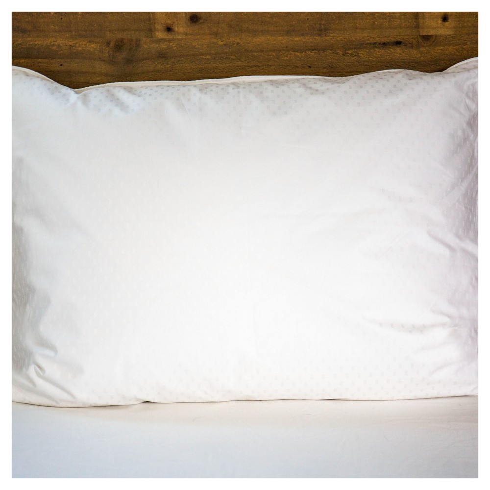 Image of Responsible Down Standard Luxury White Goose Down Queen Pillow