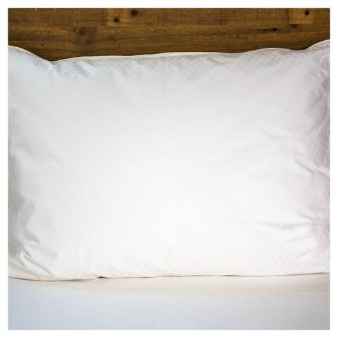 Luxury White Goose Down Pillow 600 Fill Power Target