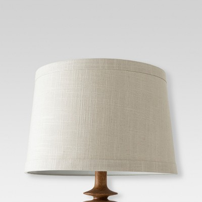 Textured Trim Large Lamp Shade Gray - Threshold™