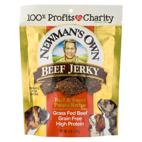 Newman's Own Jerky Treat (Beef & Sweet Potato) - 5oz - image 1 of 1