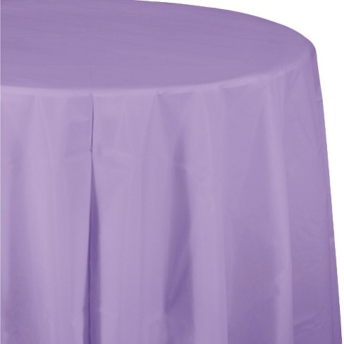 Luscious Lavender Purple Disposable Tablecloth - image 1 of 1
