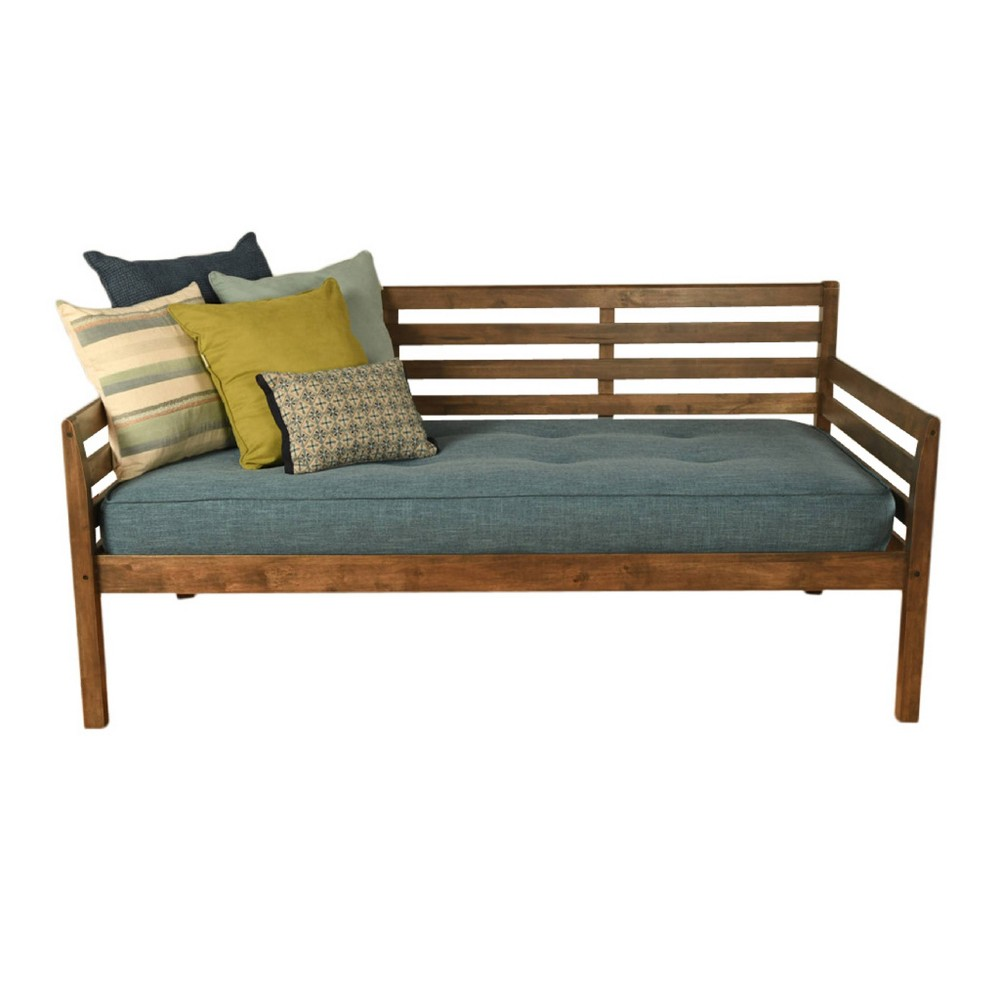 Yorkville Daybed Includes Mattress Aqua (Blue) - Dual Comfort