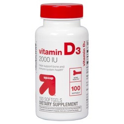 Vitamin D3 Dietary Supplement Softgels - Up&Up™