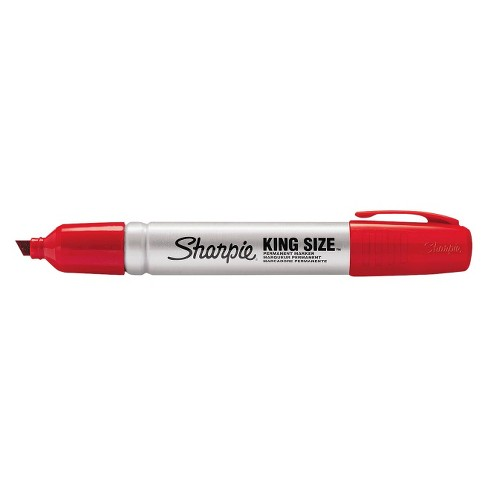 Sharpie® Chisel Tip King Size Permanent Marker - Red (12 Per Set) - image 1 of 1