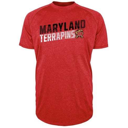 Maryland Terrapins Men's Short Sleeve Raglan Performance T-Shirt - image 1 of 1