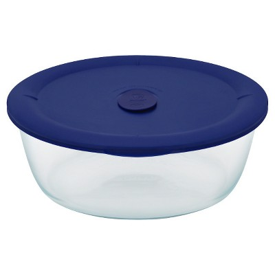 Pyrex Pro 3qt Round Food Storage Container Turquoise