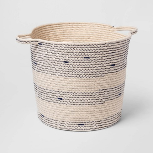 Baby Decorative Coiled Rope Basket - Cloud Island™