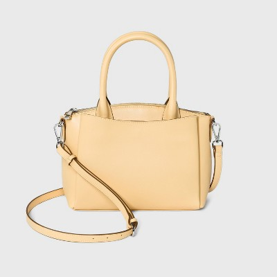 Small Satchel Handbag - A New Day™
