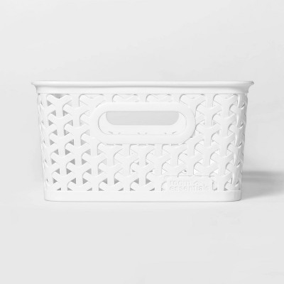 Y-Weave Small Storage Bin White 4 x7  - Room Essentials™