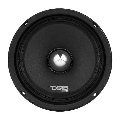 DS18 PRO FR6NEO Car Stereo 6.5 Inch 500 Watt MAX, 250 Watt RMS, and 4 Ohm Neodymium Full Range Speaker for Car Audio Sound System