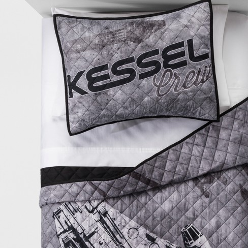 Solo: A Star Wars Story Kessel Crew Quilt Set Gray - image 1 of 2