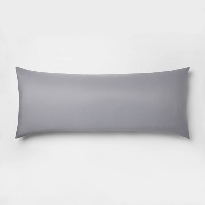 Body Pillow Gray   Room Essentials by Room Essentials