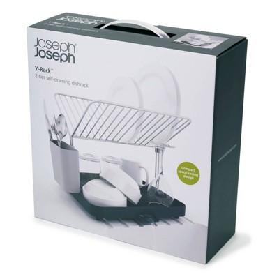 Joseph Joseph Y-rack 2-tier Dish Drainer - Gray