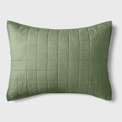 Box Stitch Microfiber Sham - Pillowfort™