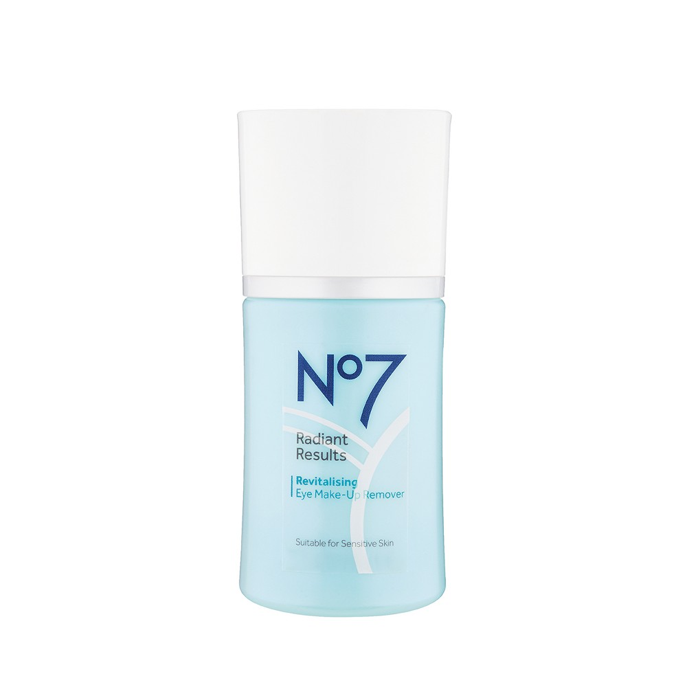 EAN 5000167255133 product image for No7 Radiant Results Revitalising Oil Free Eye Make-Up Remover - 3.3oz | upcitemdb.com