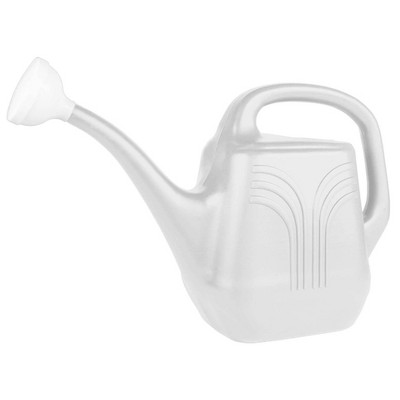 2gal Classic Watering Can White - Bloem