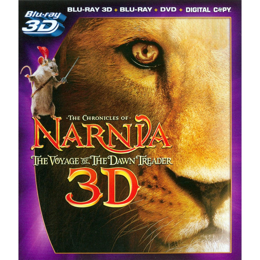 Chronicles Of Narnia:Voyage Of The 3d (Blu-ray)