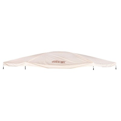 CLAM Quick-Set 12877 Outdoor Rain-Resistant Portable Escape/Sky Screened Gazebo Canopy Tent Rain Fly Tarp Cover Accessory Only, Tan