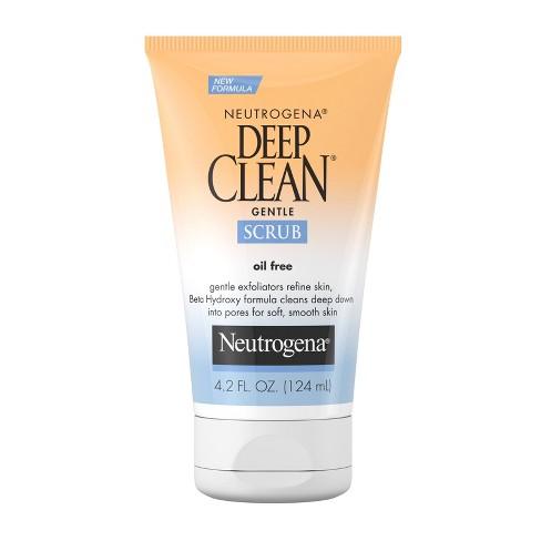 Neutrogena Deep Clean Gentle Face Scrub with Salicylic Acid - 4.2 fl oz - image 1 of 4