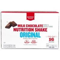16CT Market Pantry Original Nutritional Shake Milk Chocolate