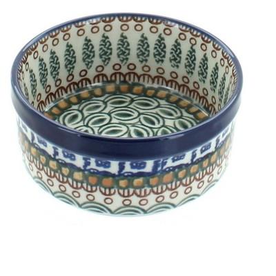 Blue Rose Polish Pottery Tuscany Small Ramekin